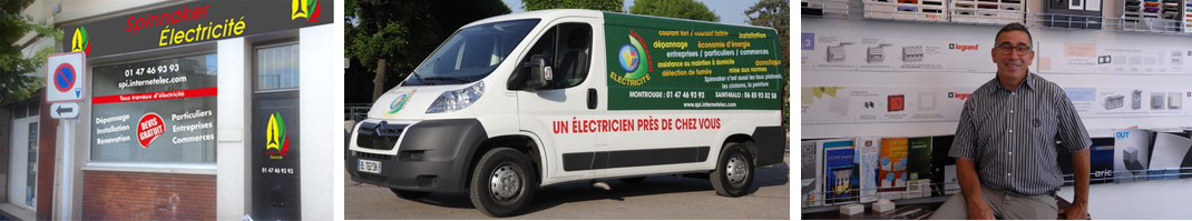 Electricien Montrouge